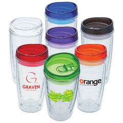 16 oz Orbit Translucent Lid Acrylic Tumbler