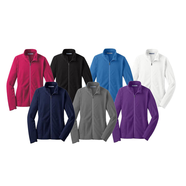 Ladies Microfleece Full Zip Jacket