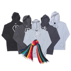 Lightweight Lace Up Hockey Hoodie