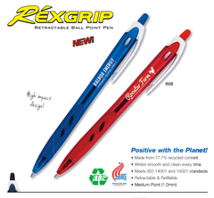 Pilot Rexgrip Retractable Ball Point Pen