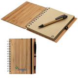 Bamboo Journal and Pen