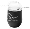 12 oz Stainless Steel Thermal Cece Tumbler