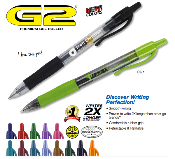 Pilot G2® Retractable Gel Ink Rolling Ball Pen