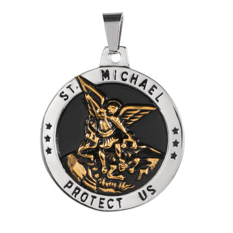Médaille Saint Michel Or
