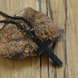 Pendentif Croix Homme Camouflage verso