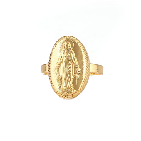 Bague Religieuse Vierge Marie
