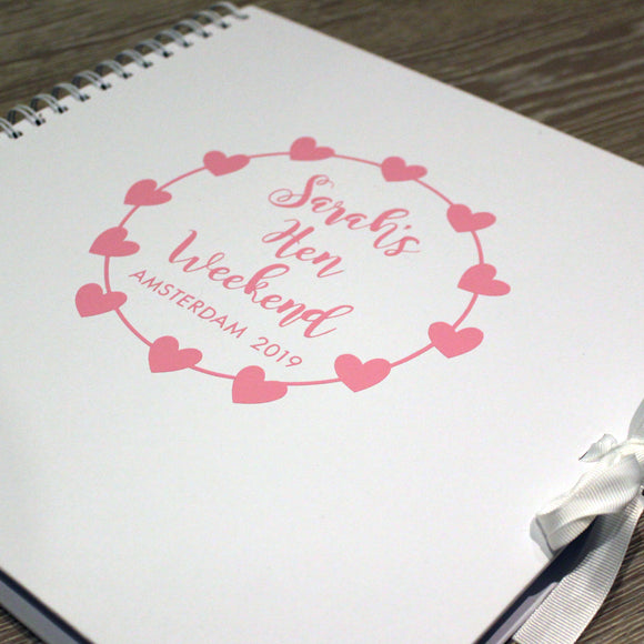 Personalised Hen Book