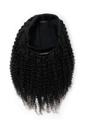 Kinky Curly Headband Wig