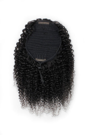 Kinky Curly Drawstring Ponytail