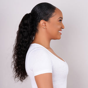 Wet & Wavy Drawstring Ponytail