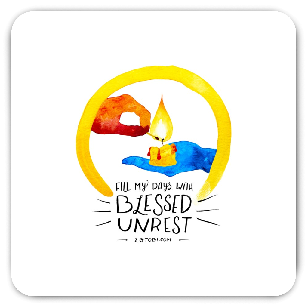 Blessed Unrest Magnet