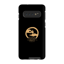 Blessed Unrest Hard Phone Case (gold on black)