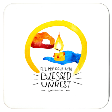 Blessed Unrest Coaster Set