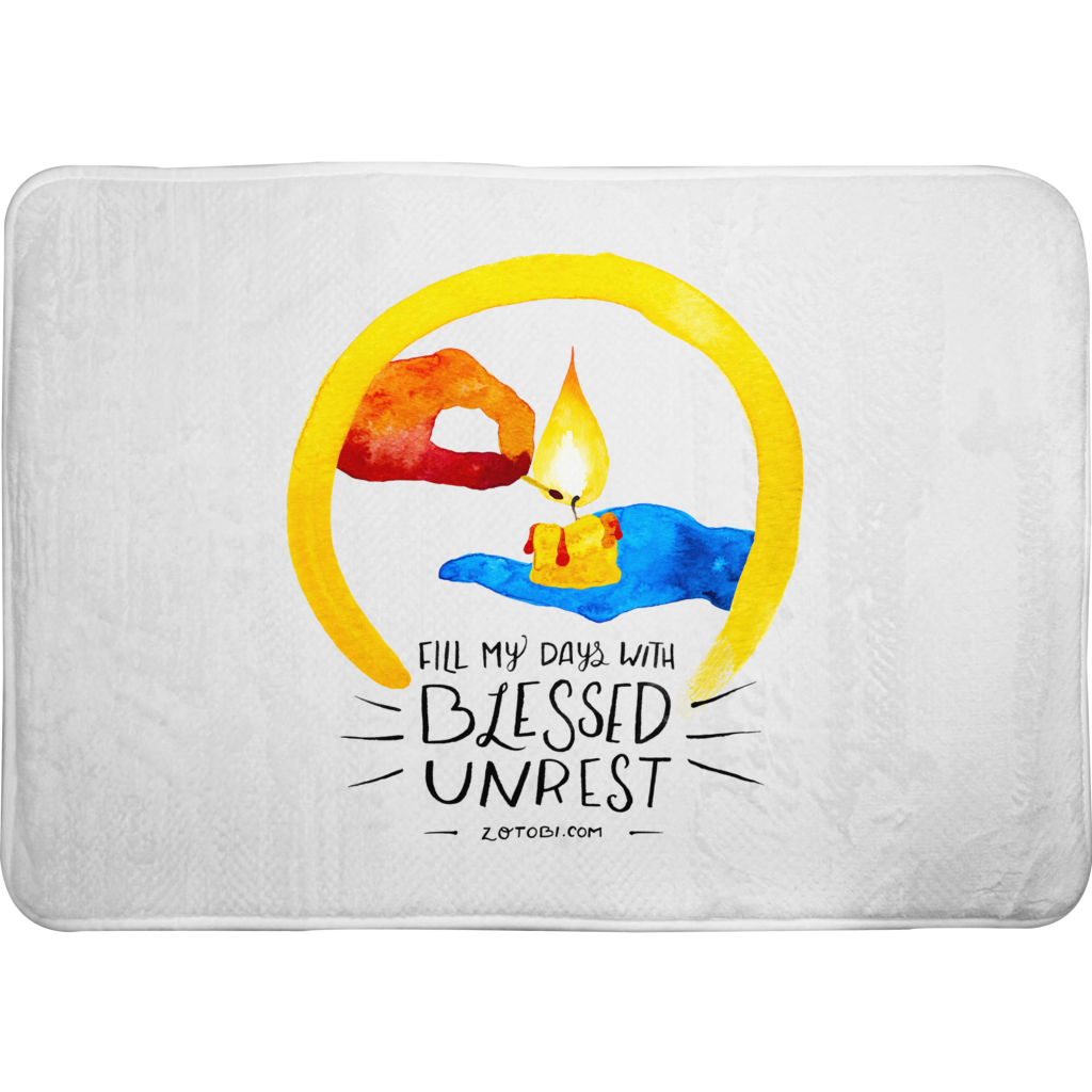 Blessed Unrest Bath Mat