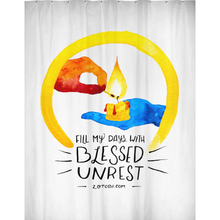 Blessed Unrest Shower Curtain