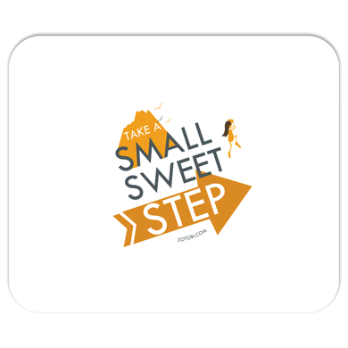 Small Sweet Step Mousepad