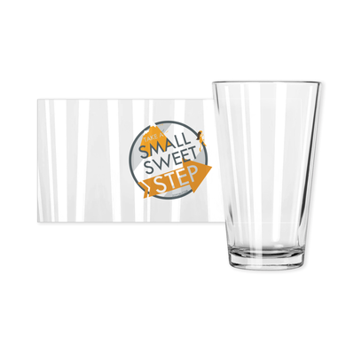 Small Sweet Step pint glass