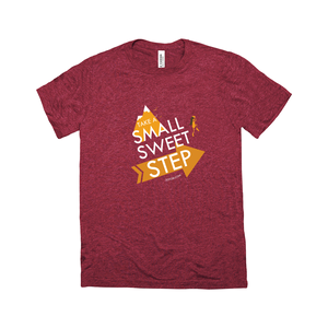 Small Sweet Step Unisex T-Shirt (color art)