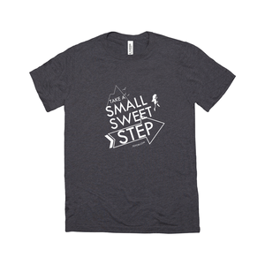 Small Sweet Step Unisex T-Shirt (line art)
