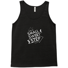 Small Sweet Step Unisex Tank Top (line art)