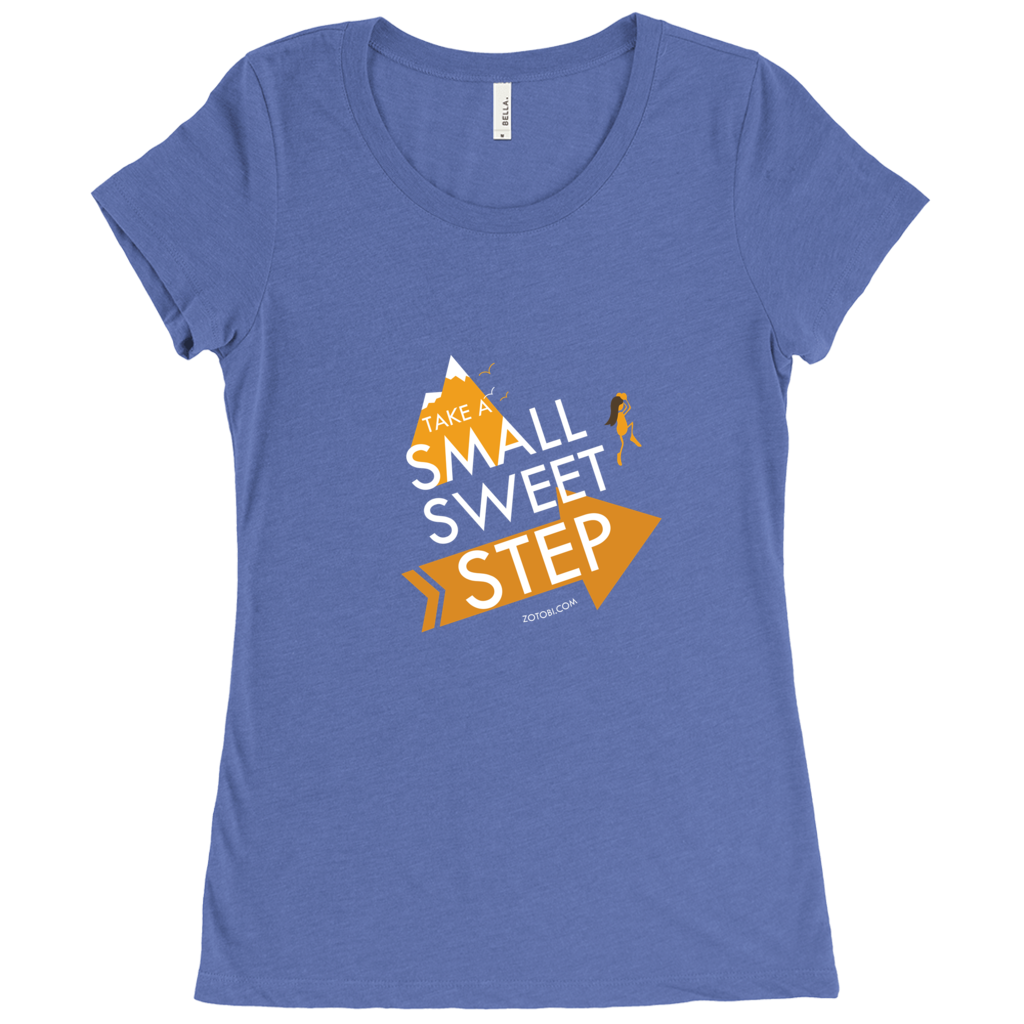 Small Sweet Step Women's T-Shirt (color art)