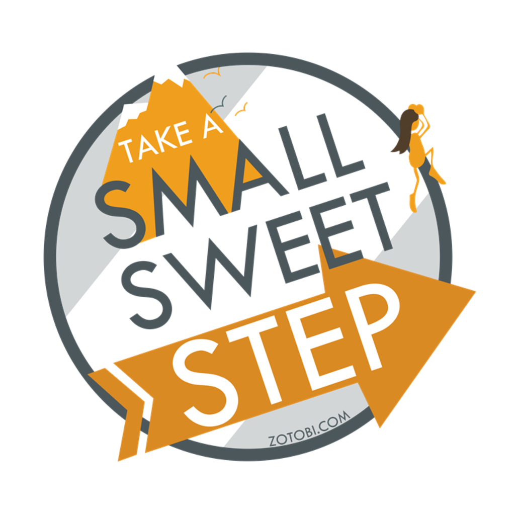 Small Sweet Step Stickers