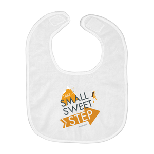 Small Sweet Step Baby Bib