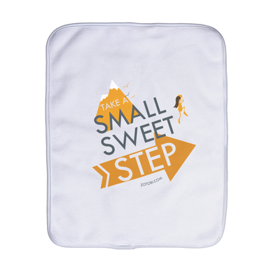 Small Sweet Step Burp Cloth