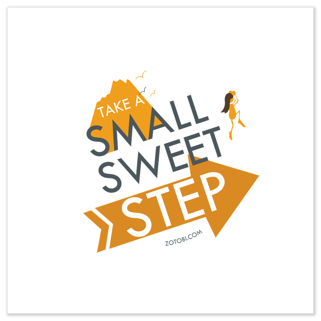 Small Sweet Step Poster