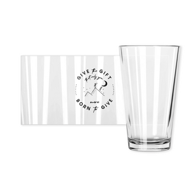 Give the Gift pint glass