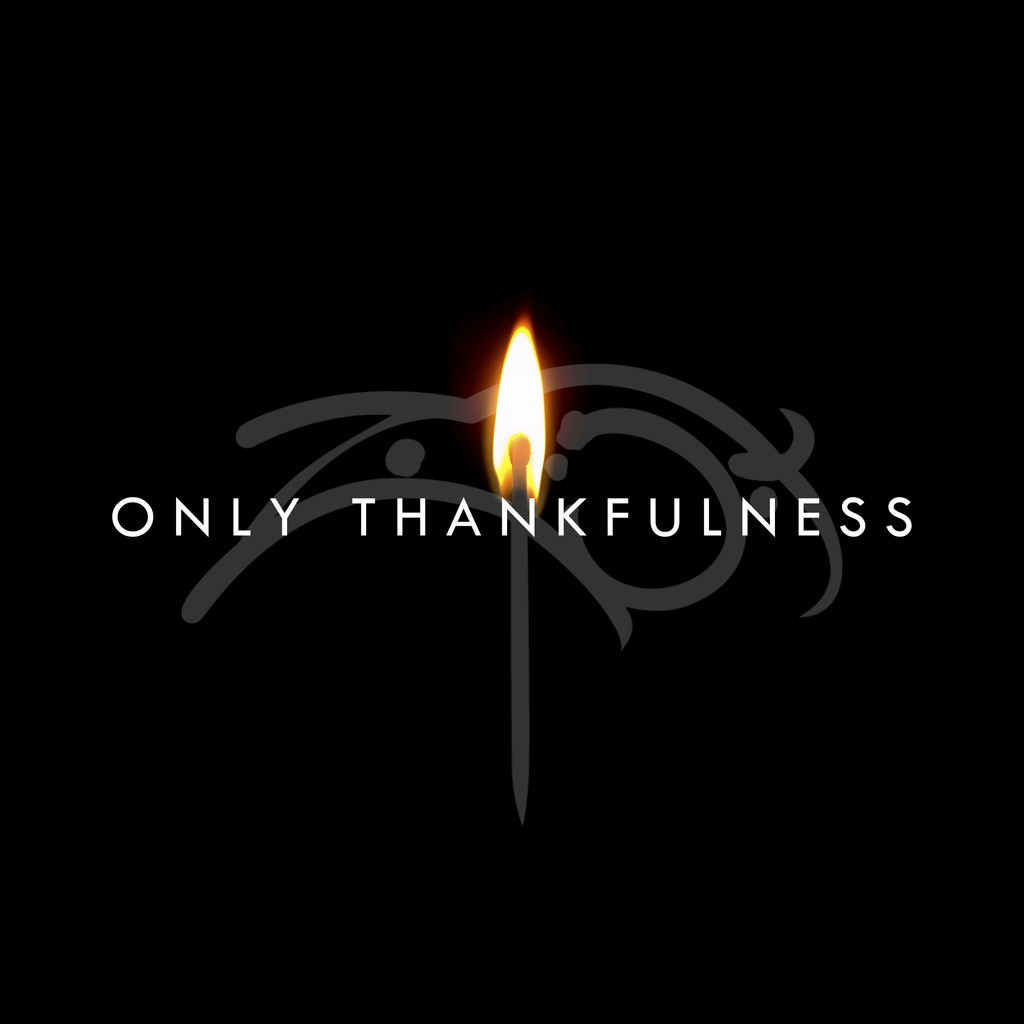 Only Thankfulness single (digital download)