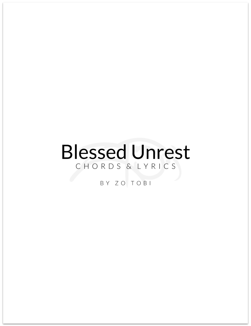 Blessed Unrest - Chords & Lyrics