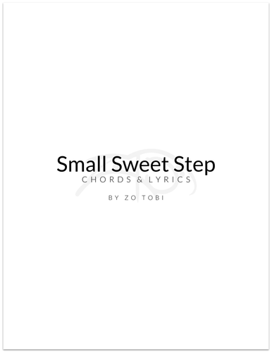 Small Sweet Step - Chords & Lyrics