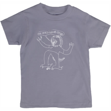 """The World Is In My Power"" Kids T-Shirt"