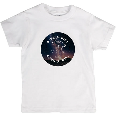 Give the Gift kids t-shirt (Milky Way)
