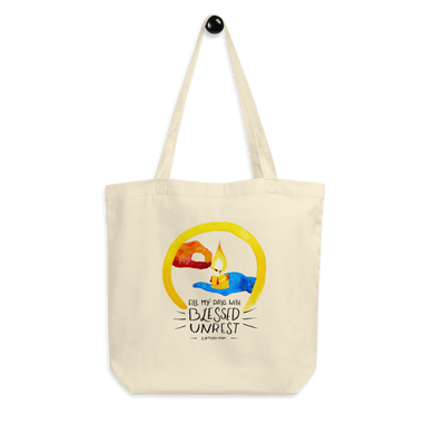Blessed Unrest Eco Tote Bag