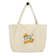 Small Sweet Step Eco Tote Bag (large)