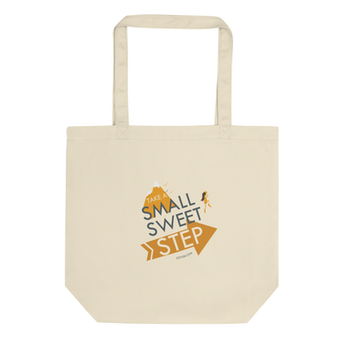 Small Sweet Step Eco Tote Bag