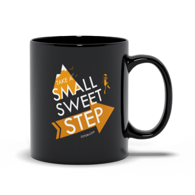 Small Sweet Step Mug (black)