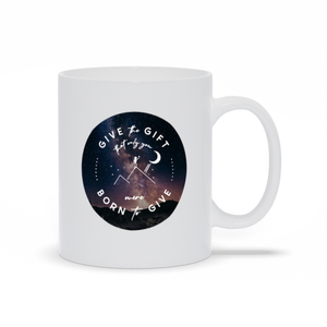 Give the Gift mug (Milky Way mountains)