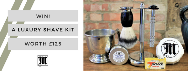 NOW CLOSED - WIN! A Luxury Shave Kit Worth £125!