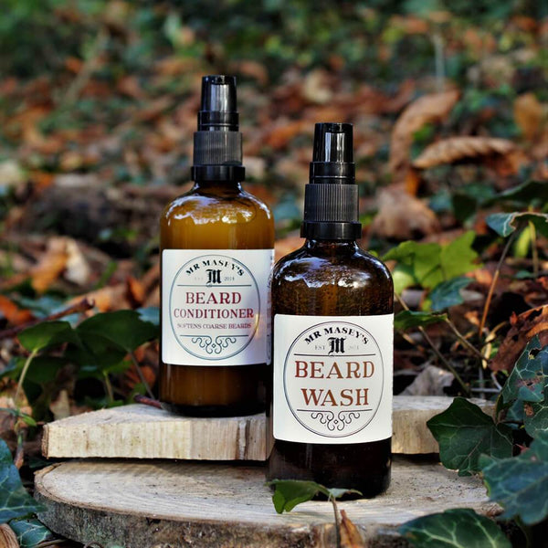 Mr Masey's Brilliant Beard Box 1, Beard wash & conditioner