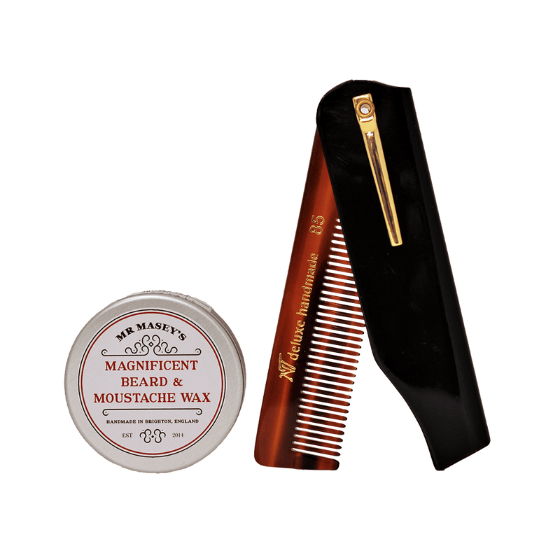 Duo -  Beard & Moustache Wax and Comb