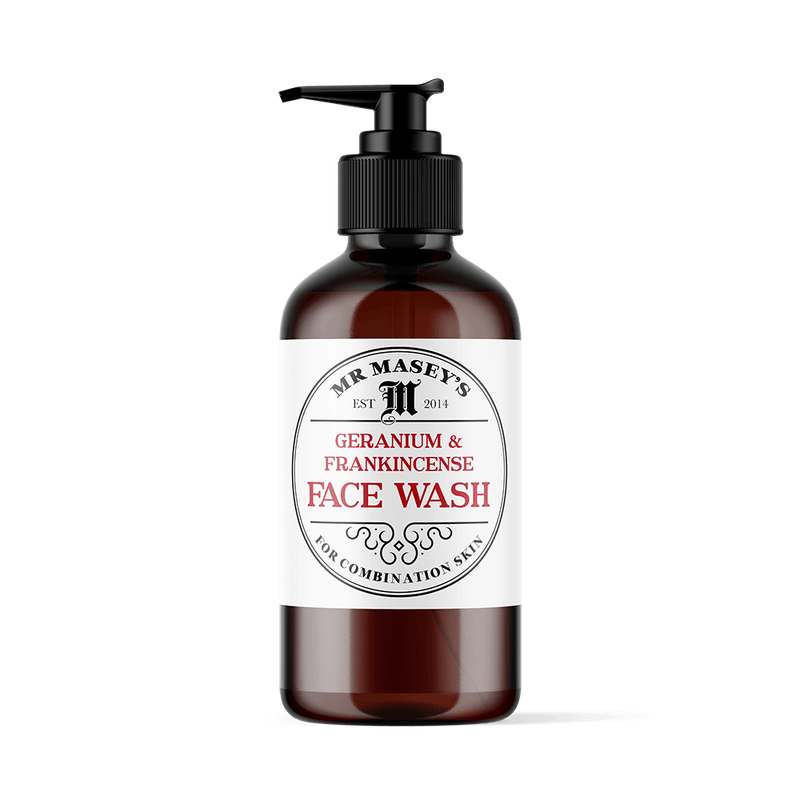 Mr Masey's Vegan Face Wash for Combination skin bottle
