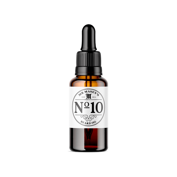 Mr Masey's No.10 Beard Oil bottle