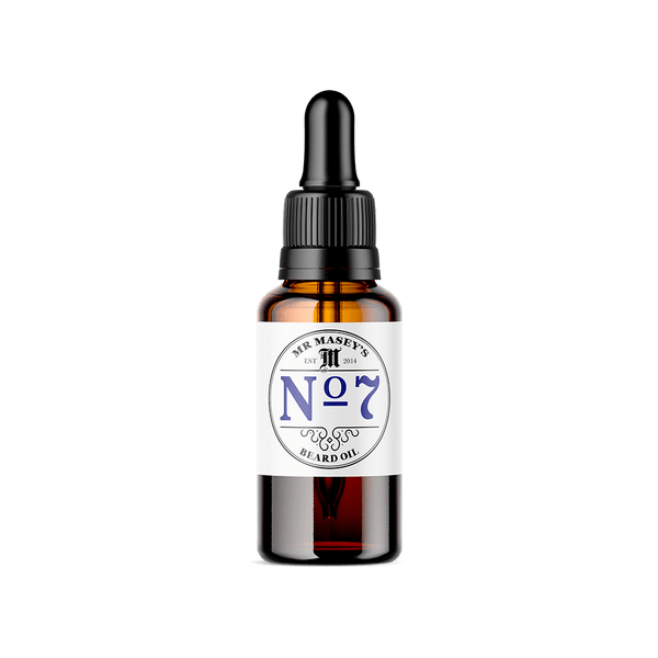 Mr Masey's No.7 Beard Oil bottle