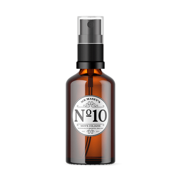 Mr Masey's Handmade Vegan No.10 Cologne bottle