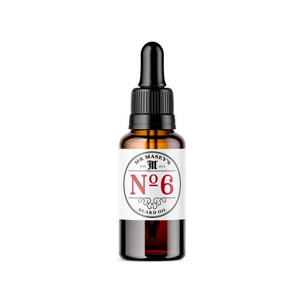 Mr Masey's No.6 Beard Oil bottle