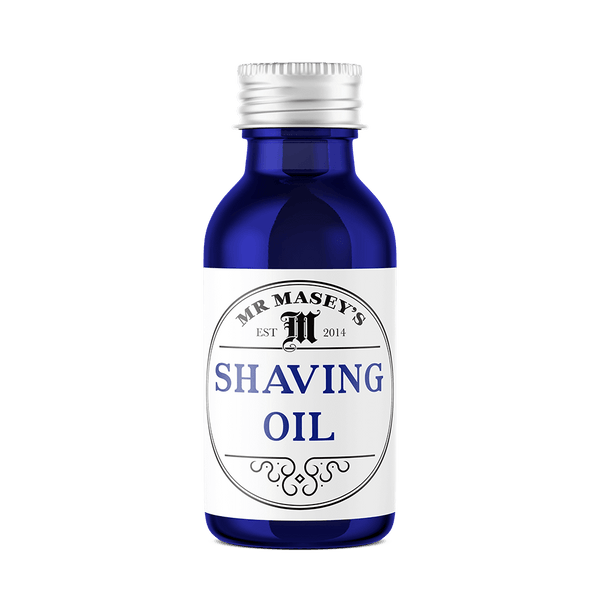 Mr Masey's Shaving Oil bottle