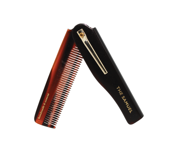 Kent Samuel folding beard and moustache comb